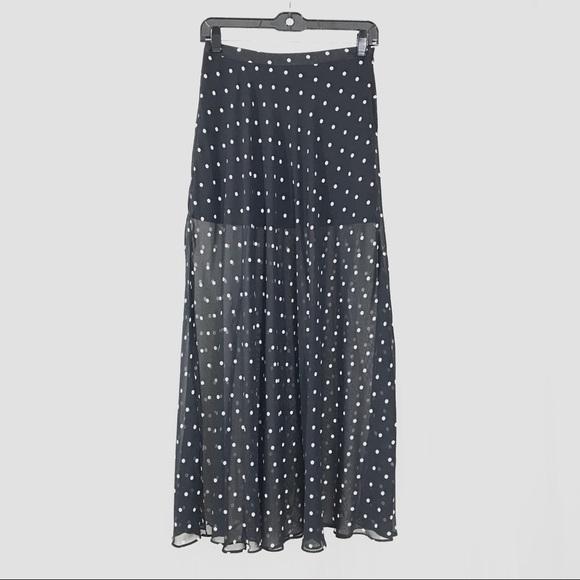 3d1785224 Forever 21 Skirts   Polka Dot Maxi Skirt   Poshmark